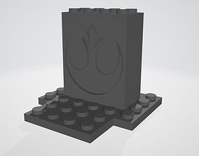 3D printable model Lego Star Wars Spaceship Stand - Rebel