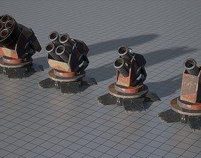3D model Turret Splash