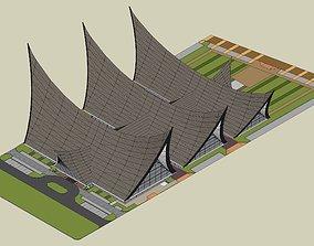 The Minangkabau House 3D printable model 3D model