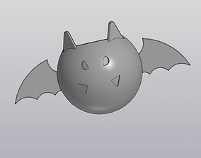 Hanging Flowerpot Bat 3D printable model
