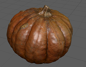 Pumking Video Game ready 3D
