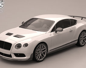 3D model Bentley Continental