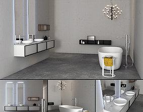 3D model Bathroom furniture set Bespoke 2