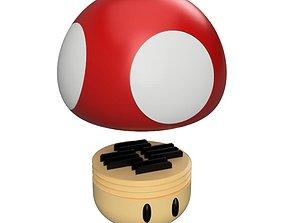 game-accessories 3D print model Super Mushroom tools