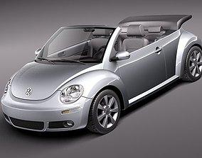 Volkswagen Beetle 2005 - 2011 convertible 3D