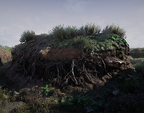 3D asset Cliff Faces 2