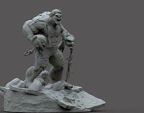HULK AVENGER ULTRON 3D print model
