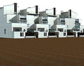 Villa 3D model high