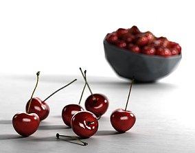 3D model Bowl of Cherries