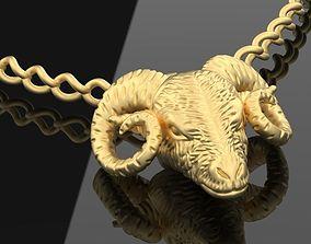 3D printable model Necklace Ram