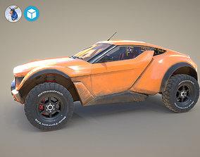 Zarooq Racer Car 3D model