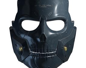 Die-Hardman Mask Printable Model PBR