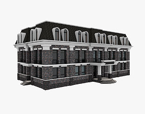 exterior Administrative Office Building 3D
