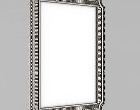 ornament 3D printable model Frame for the mirror