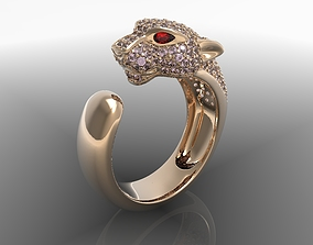 3D print model Ring panthere cartier