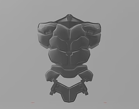 Batman Arkham Knight Abdominal armor 3D print model