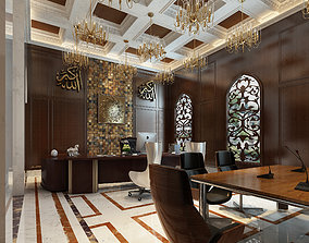 3D Islamic Style Leadership Office
