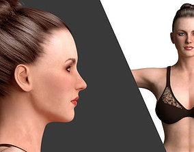 Beautiful Women -Rigged 3D model
