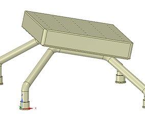 LEGRESTS AND FOOTRESTS hospital medical 3D printable model