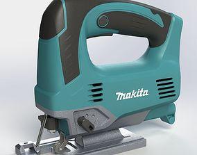 fretsaw Makita JV0600K 3D model household