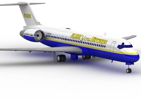 717: Flick You Airlines