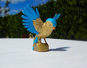 3D print model Bird Statue