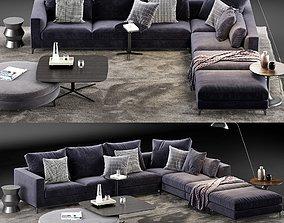 Minotti Andersen Sofa 5 3D