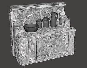 Kitchen Cabinet 3D printable model