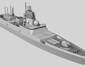 3D asset FFG Admiral Gorshkov class Project 22350