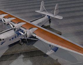 3D model historic Sikorsky S-42 Pan Am Clipper