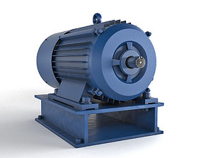 3D model Electric motor electric