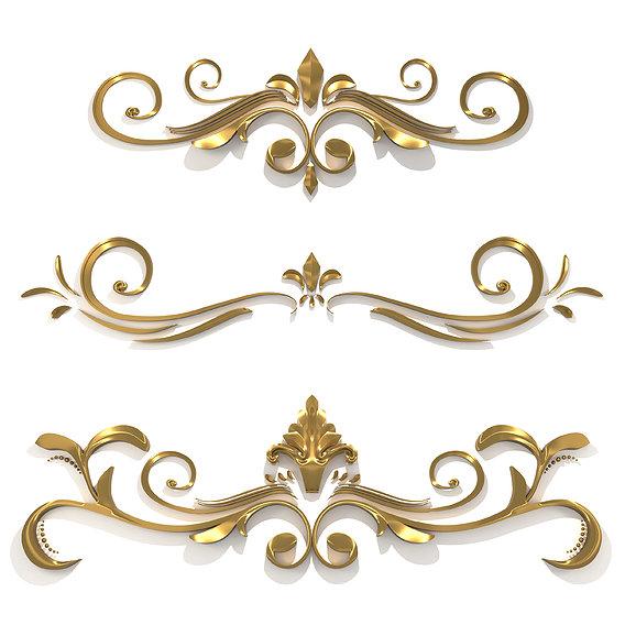 Floral Ornament Frames
