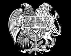 coat of arms of Armenia other 3D printable model