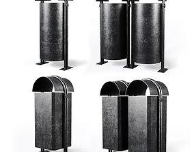 3D model Street urn