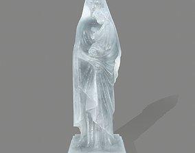 3D asset Woman Statue