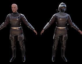 3D model TAB Medieval Knight - 1