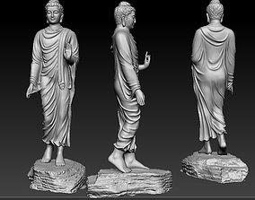 3d 3D model Buddha