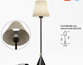 Chelsom Console CO 9 BB EBR table lamp 3D model