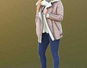 3D model Rocio 10295 - Standing Winter Girl