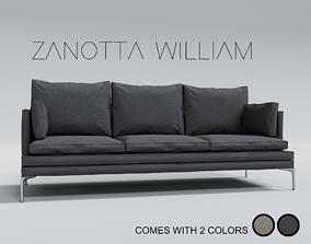 3D sofa zanotta william