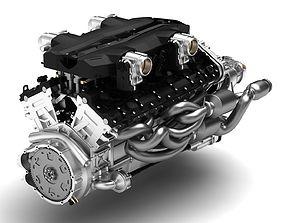 Aventador Engine - V12 3d model