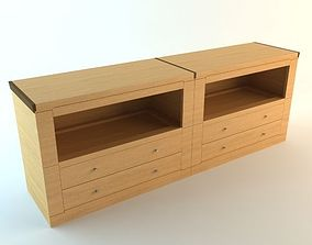 3D model Contemporary Credenza Cabinet 2