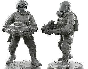 3D print model Scar 01