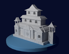 One piece marine ford castle 3d printable