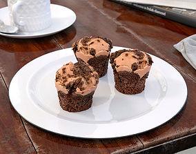 3D model muffin 27 AM151