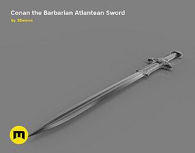 Atlantean Sword from Conan the 3D printable model