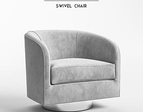 retro Milo Baughman - Swivel Chair model