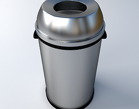 rubbish 3D Trashcan