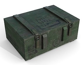 Military Case2 3D asset low-poly