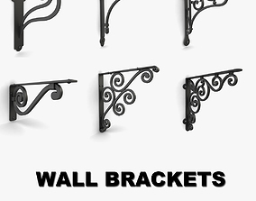Wall Brackets collection vol 3 3D